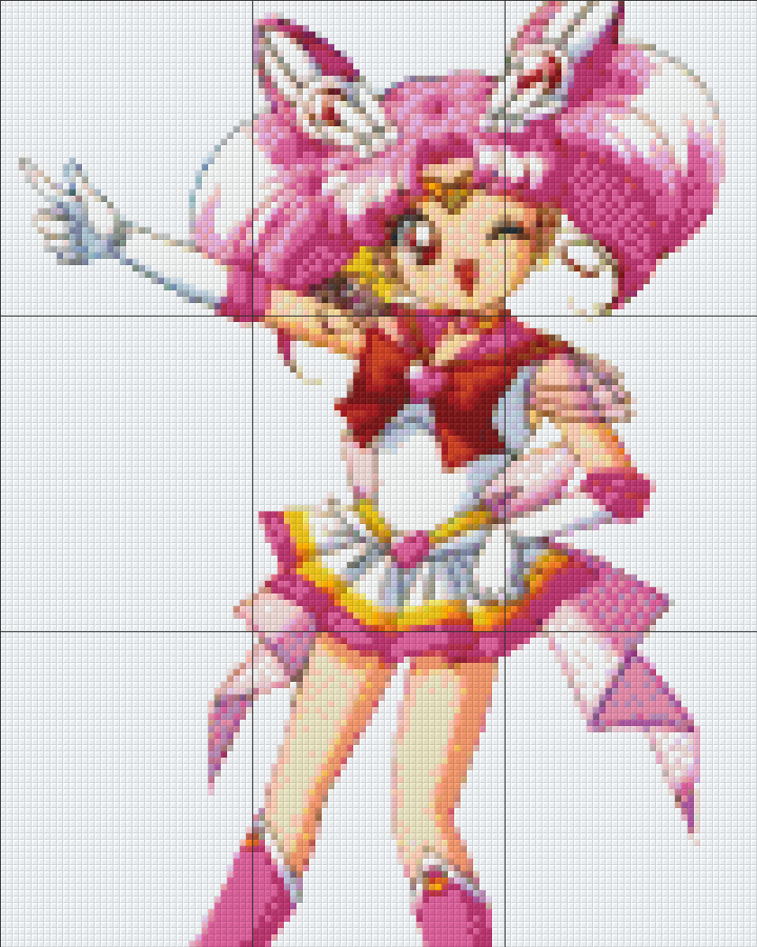 Pixelhobby Sailor Chibi Moon