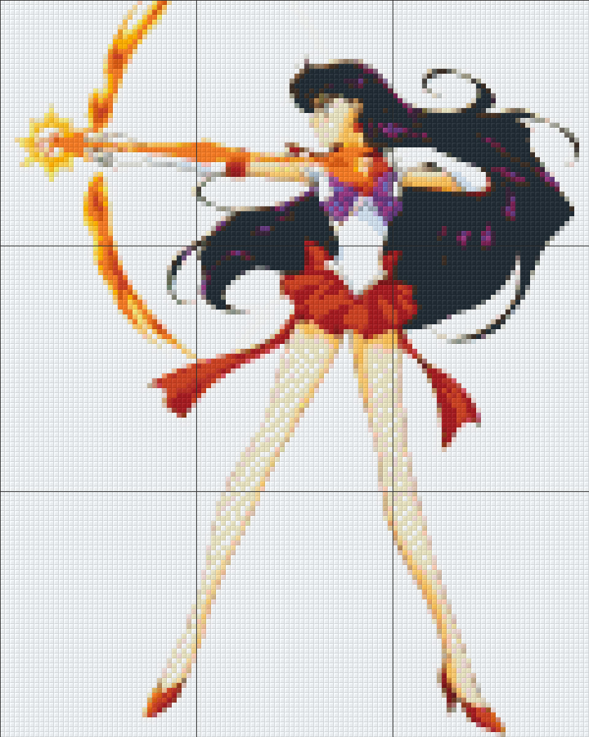 Pixelhobby Sailor Mars